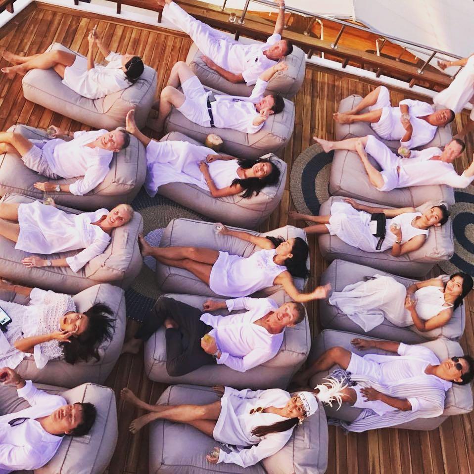 Behaving in Komodo Cruises Labuan Bajo Party