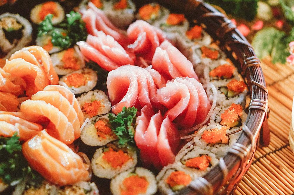 sashimi catering bali