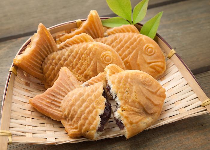 taiyaki japanese snack