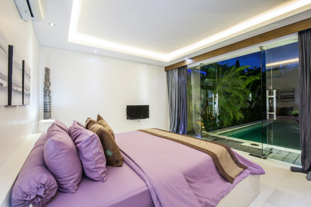 Bali houses for sale with a private swimming pool view