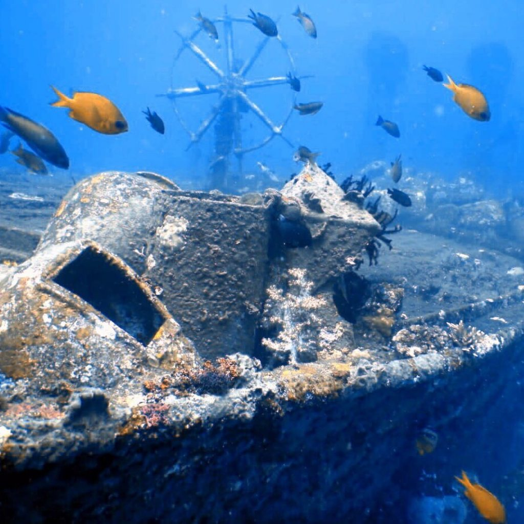 When is the best time to explore the sunken ships